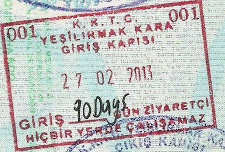 виза на северный кипр