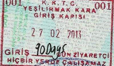 виза северный кипр