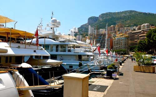 Монако яхты