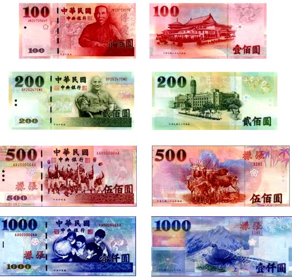 тайванские доллары