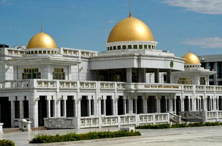 Дворец в Ашхабаде