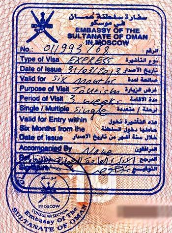 экспресс виза