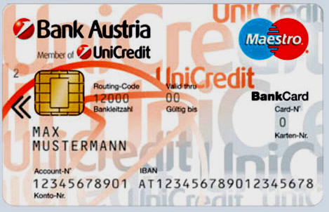 банковская карточка