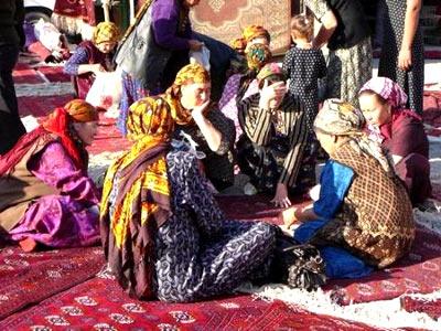 пенсионеры в Туркменистане