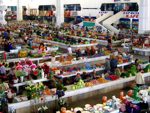 рынок в Ашхабаде