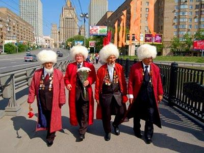 туркменские пенсионеры
