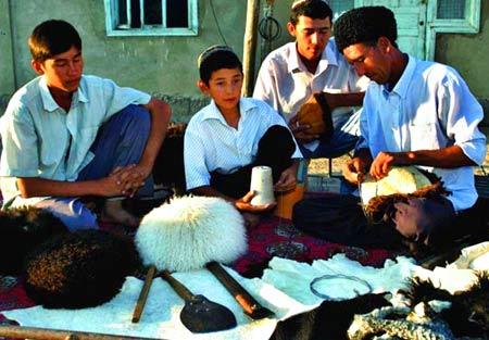 жители Туркменистана