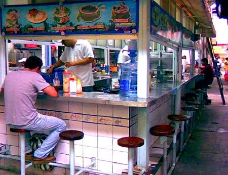 закусочная в Омане
