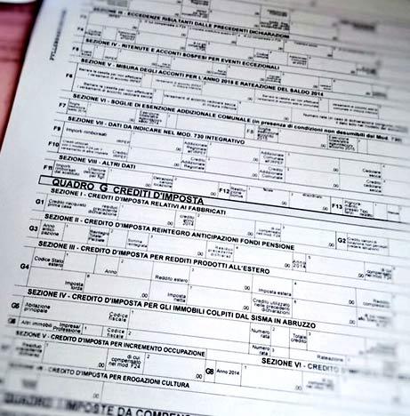 италия налоговая декларация