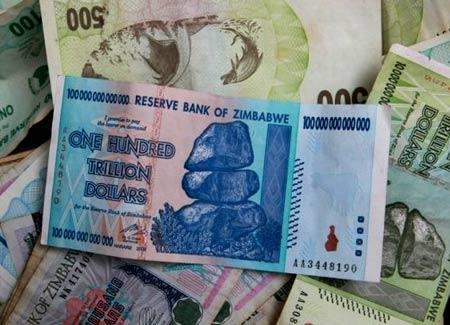 деньги в Зимбабве