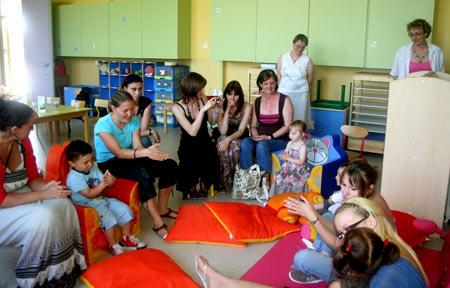 Франция детский сад