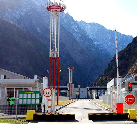 грузино-абхазская граница