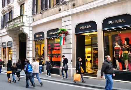 бутики в Италии