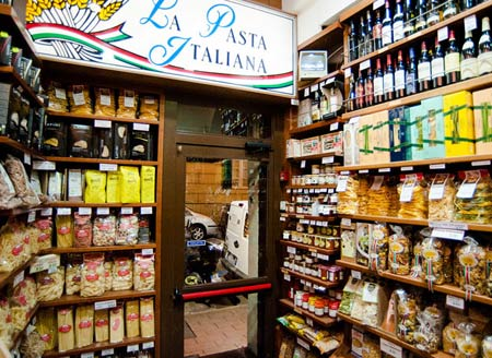 италия продуктовый магазин
