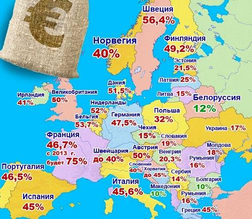 Испания подоходный налог