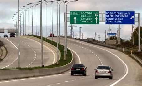 освещение дорог в грузии