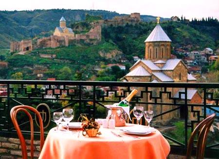 ресторан в грузии