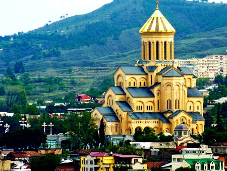 Грузия резиденция патриарха