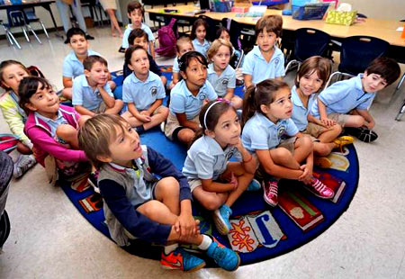 урок в испанской школе