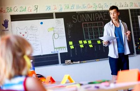 учитель в Италии