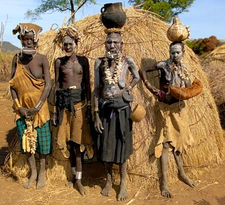 жители эфиопии