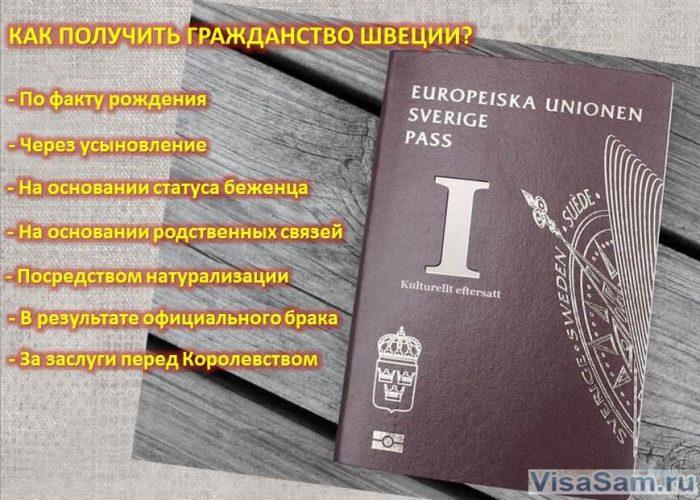 Как получить гражданство Швеции