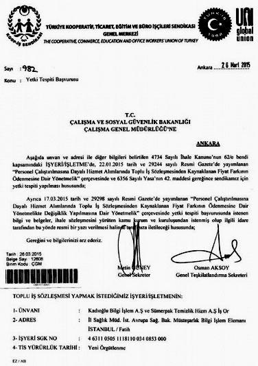 Турция рабочий контракт
