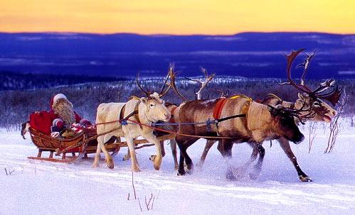 Лапландия Санта Клаус