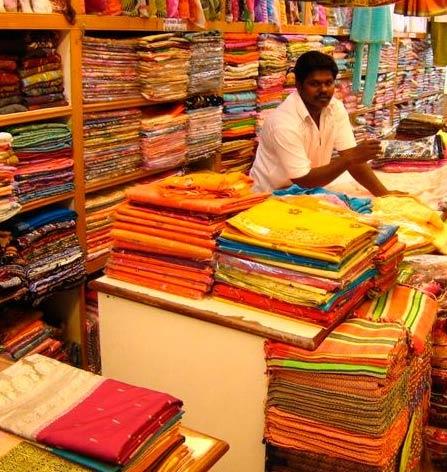 продавец в Индии
