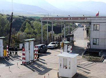 армянская граница