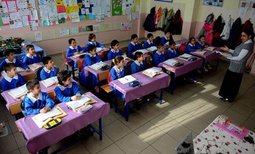 Турция начальная школа