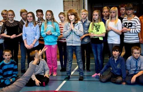 шведские школьники