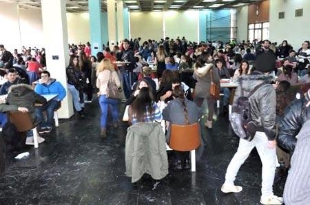 столовая в университете