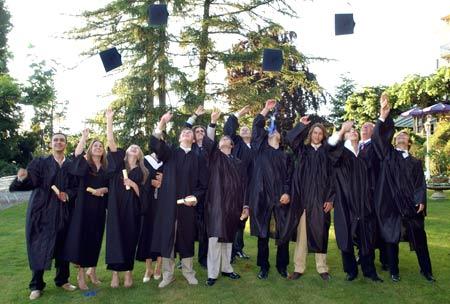 выпускники в Австрии