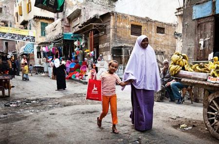 базар в Александрии