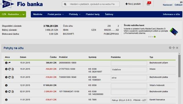 Чехия банковский перевод