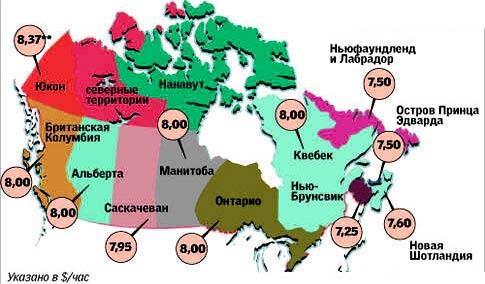 зарплата сварщика Канада