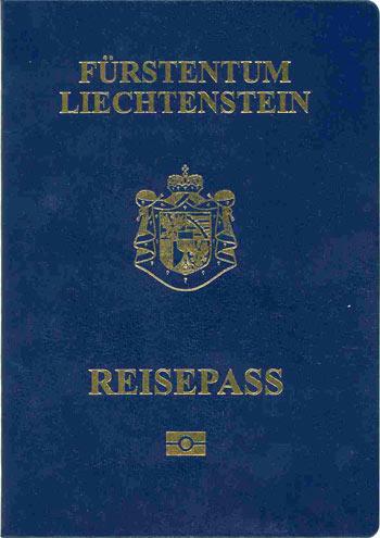 паспорт Лихтенштейн