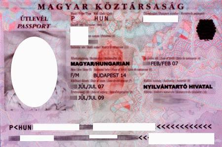 Венгрия паспорт