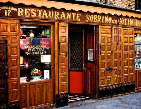 ресторан Собрино