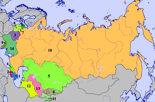 границы советского союза