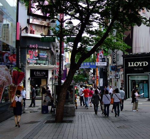 улица южная корея