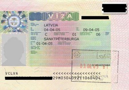виза в Латвию категории С