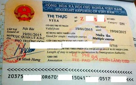 Вьетнам бизнес виза