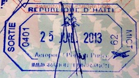 Гаити виза
