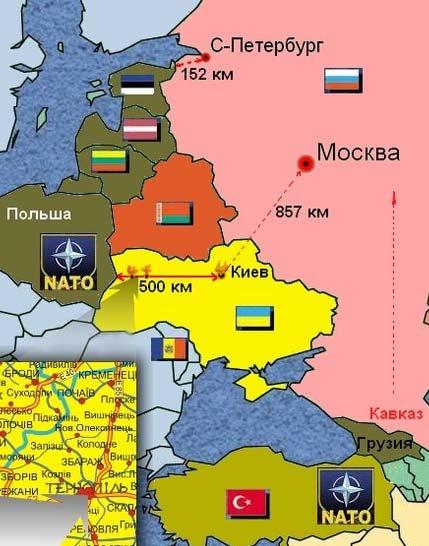западная граница России
