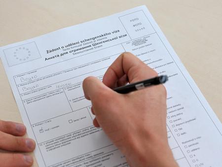 заполнение шенгенской анкеты
