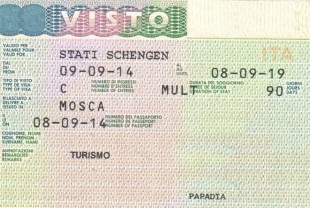 Какие документы нужны для получения и оформления визы в Италию в 2018 году