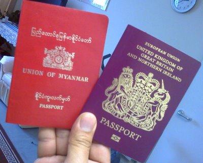 Иностранные паспорта
