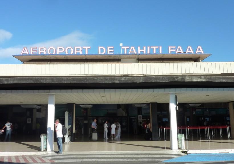Аэровокзал Таити г. Папеэт